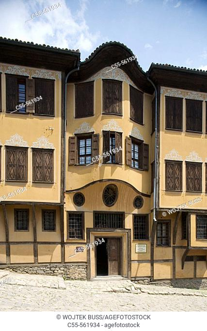 Plovdiv, house of Dimiter Georgiady (1846-1848), old town, traditional houses. Bulgaria