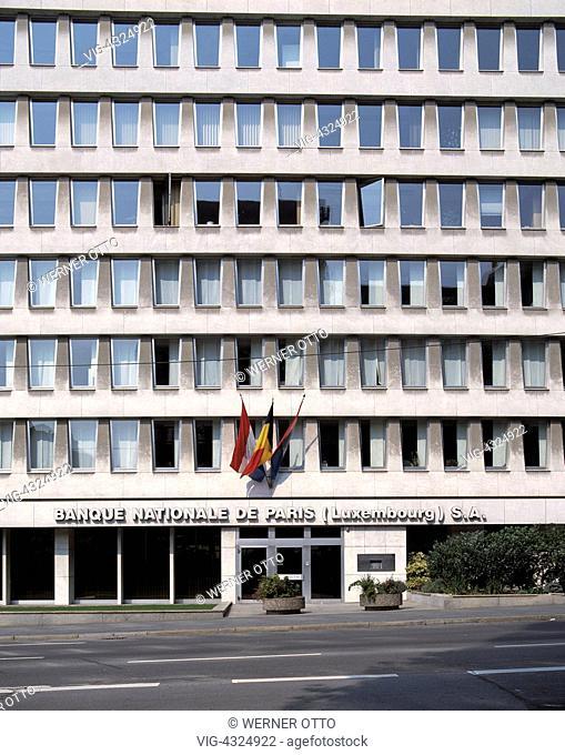 L-Luxemburg, Bankenviertel, Boulevard Royal L-Luxembourg, banking quarter, Boulevard Royal - Luxemburg, Luxembourg, 01/01/2014