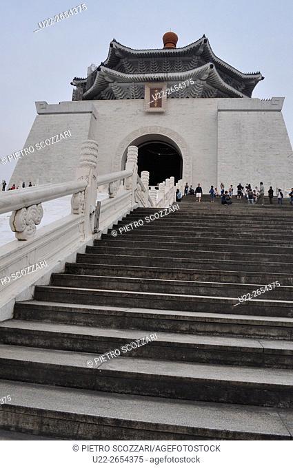 Taipei, Taiwan: The National Chiang Kai-shek Memorial Hall