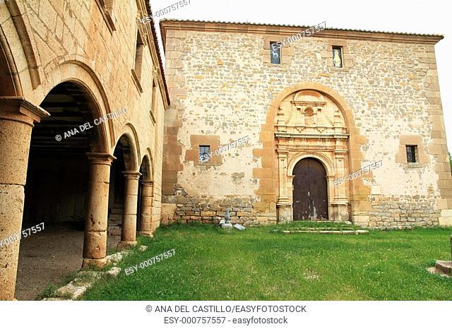 Sanctuary of Virgin del Campo Camarillas Teruel province Aragon Spain