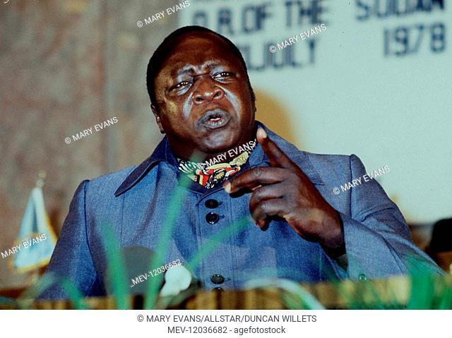 Idi Amin President Of Uganda 03 July 1978