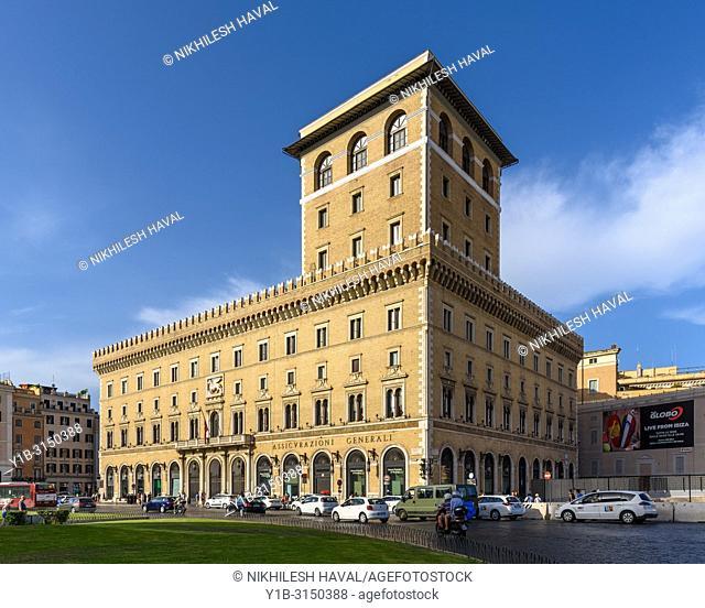 Assicurazioni Generali Paalce, Piazza Venezia, Rome, Italy