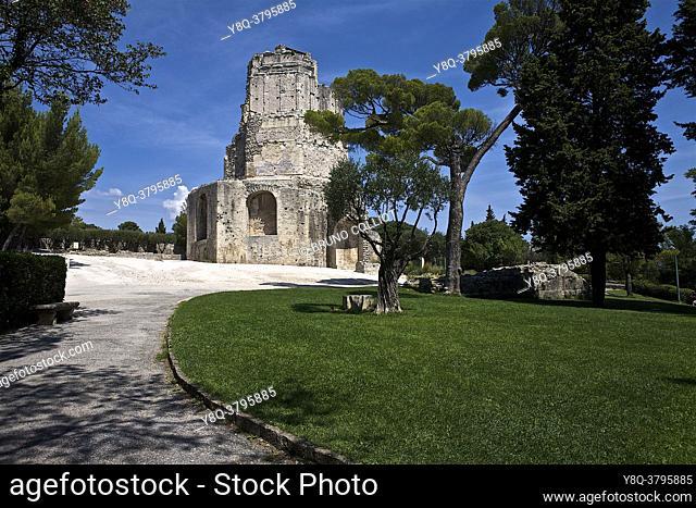 Tour Magne, Nîmes, Gard, France