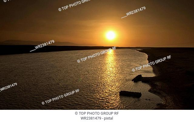 Gansu Province Gannan Maqu County Wetlands
