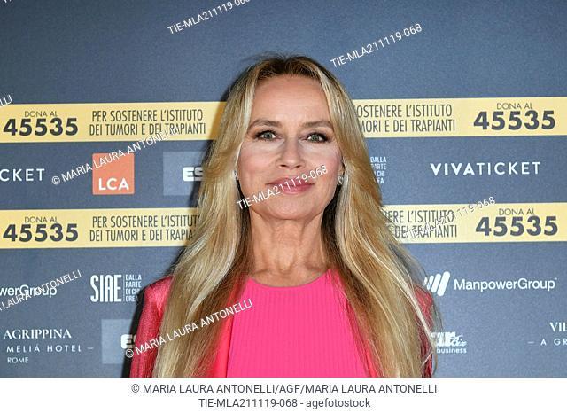 Gloria Guida during the charity show ' Una serata di stelle' for the Hospital Bambino Gesu', Paul VI Hall, Vatican City, ITALY-20-11-2019