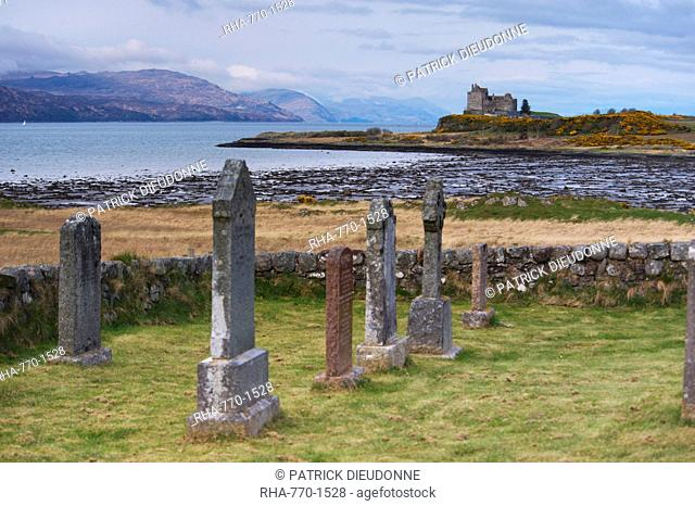 Duart Castle, Isle of Mull, Inner Hebrides, Scotland, United Kingdom, Europe