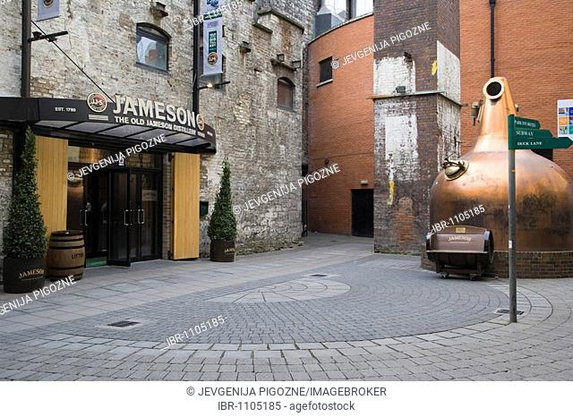 The Old Jameson Distillery, Dublin, Ireland