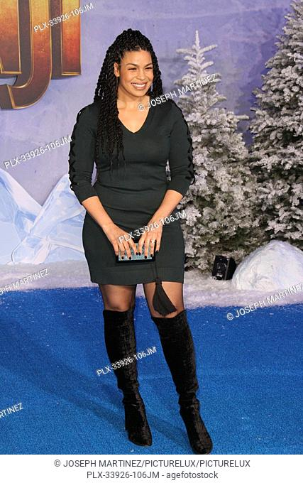 """Jordin Sparks at Sony Pictures' """"""""Jumanji: The Next Level"""""""" World Premiere held at the TCL Chinese Theater in Hollywood, CA, December 9, 2019"""