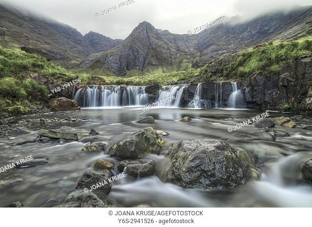 Fairy Pools, Glen Brittle, Isle of Skye, Scotland, United Kingdom
