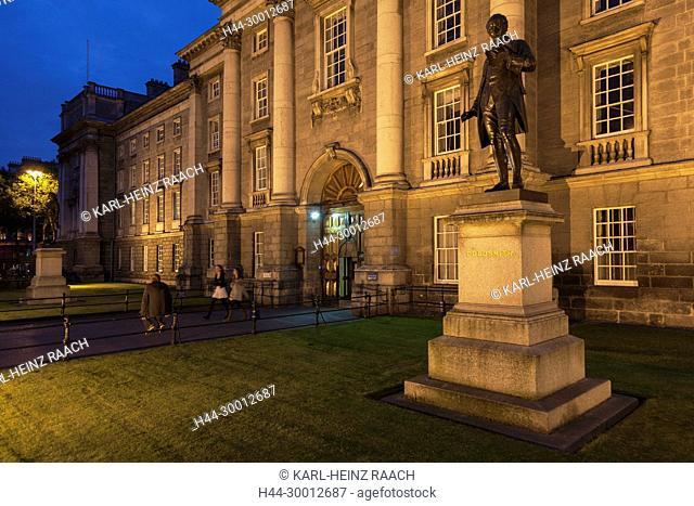 Irland, Dublin, Haupteingang, Trinity College