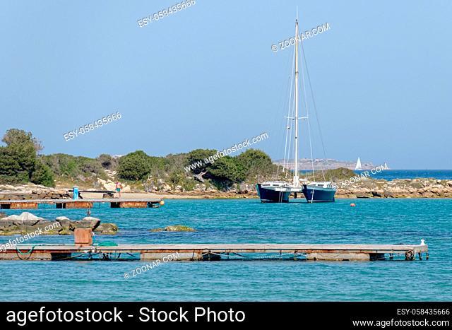 Marina at Cannigione Sardinia