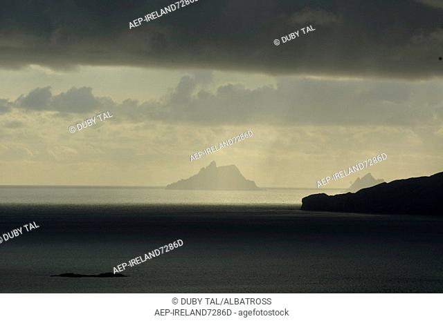 Photograph of the cliffs of Ireland