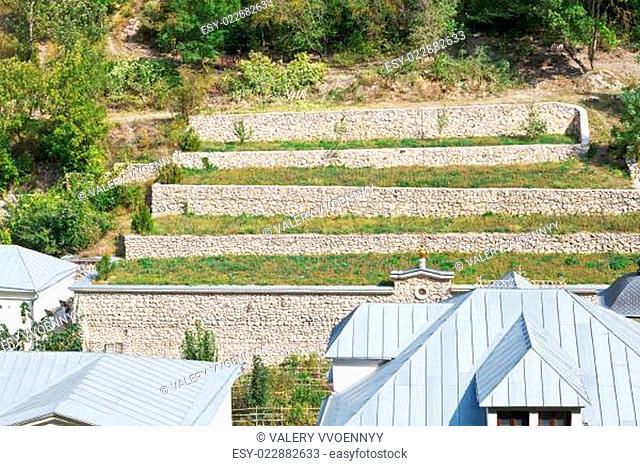 terraced farmland, Crimea