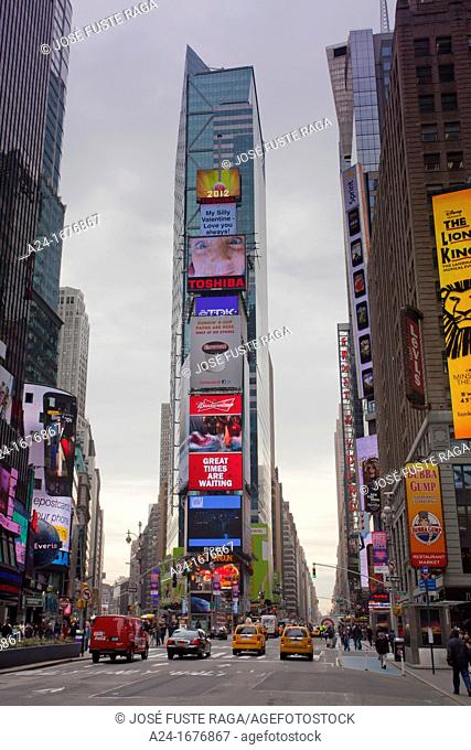 USA, New York City ,Manhattan ,Times Square