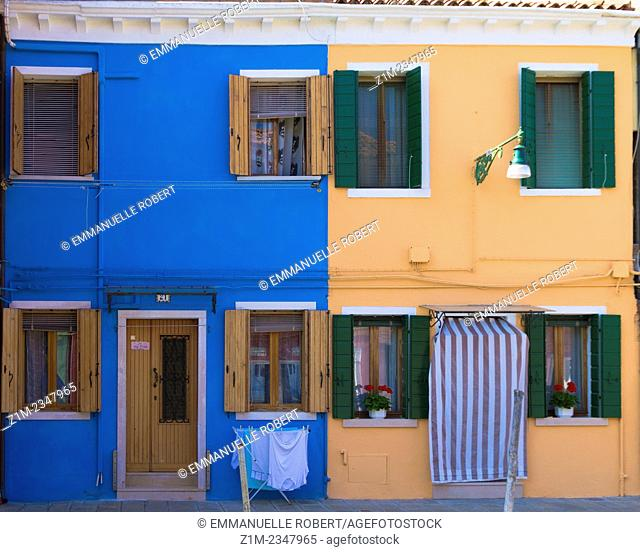 Europa, Italy, Burano Island which belongs to Venice