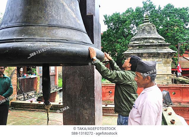 Taleju Bell at Durbar Square, Kathmandu Nepal