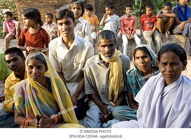 Community meeting ; Uttar Pradesh ; India