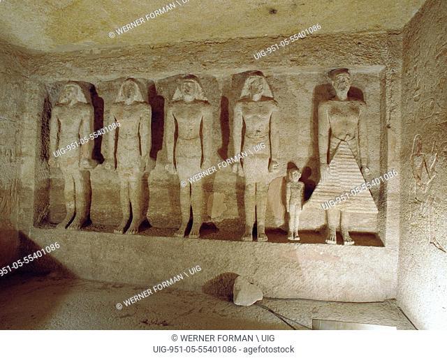The chapel of the tomb of Meryre nufer Qar