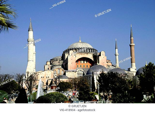The Hagia Sofia - Istanbul, Turkey, 20/02/2007