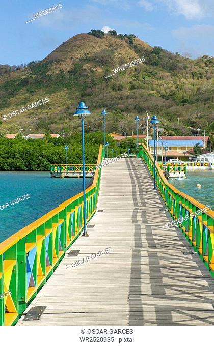 Puente de los Enamorados, Isla de Providencia, Archipielago de San Andres y Providencia, Colombia
