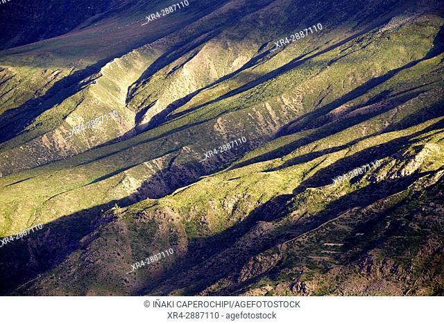 View from Shashur Gompa, Lahaul Valley, Keylong, Himachal Pradesh, India
