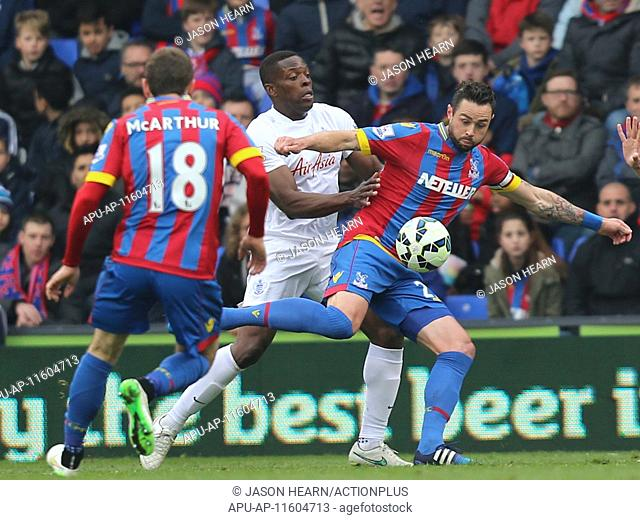 2015 Barclays Premier League Crystal Palace v QPR Mar 14th. 14.03.2015. London, England. Barclays Premier League. Crystal Palace versus Queens Park Rangers
