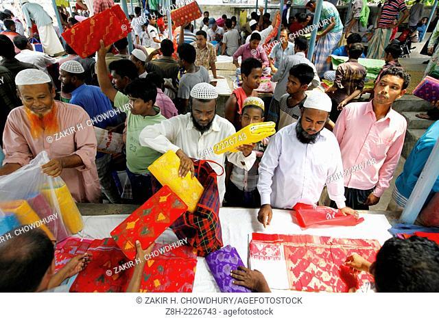 Jamdani Sharee's hole sale market