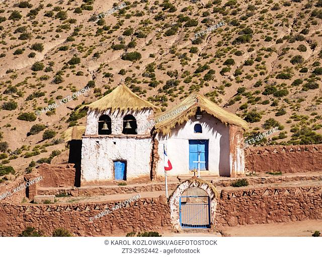 Church in Machuca, Antofagasta Region, Chile