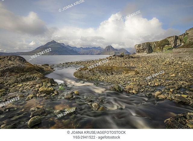 Elgol, Cuillin Mountains, Isle of Skye, Scotland, United Kingdom