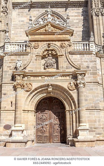 Cathedal of Santa Maria in Astorga, Way of St. James, Leon, Spain
