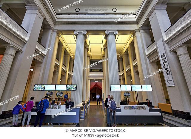 Auckland War Memorial Museum. New Zealand