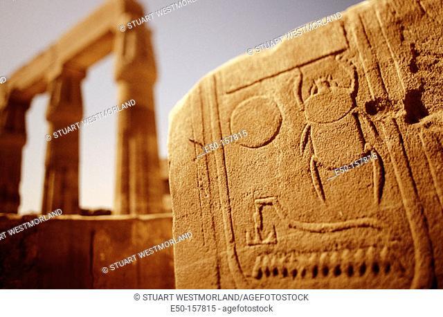 Temple of Karnak. Luxor. Egypt