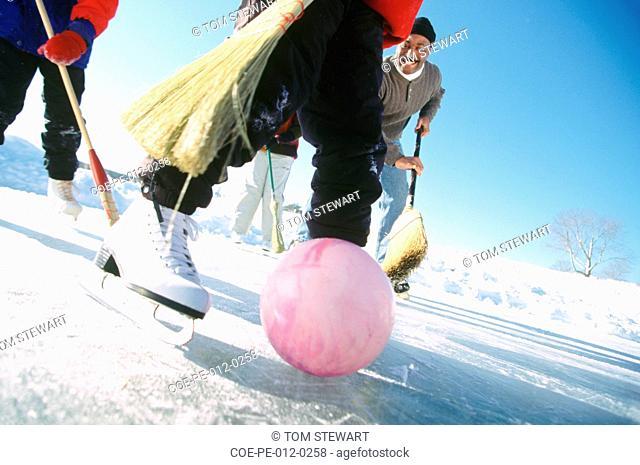 Broomstick hockey