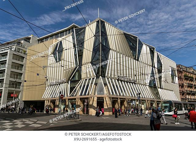 Printemps Department Store in Strasbourg, Alsace, France