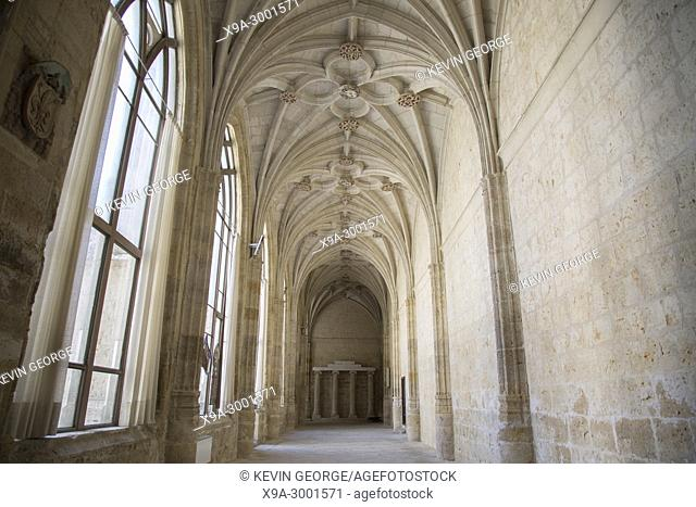 San Antolin Cathedral Cloister; Palencia; Spain