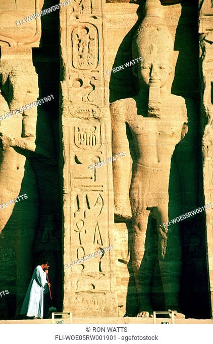 R.Watts, Abu Simbel, Temple, Egypt
