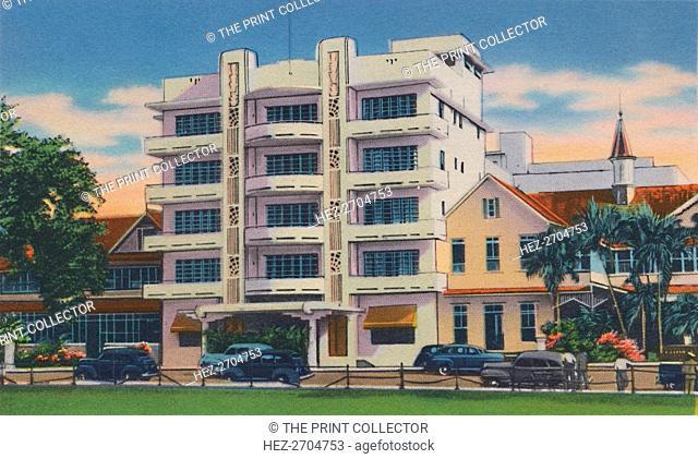 'Queen's Park Hotel, Port of Spain, Trinidad, B.W.I.', c1940s.', c1940s. Creator: Unknown