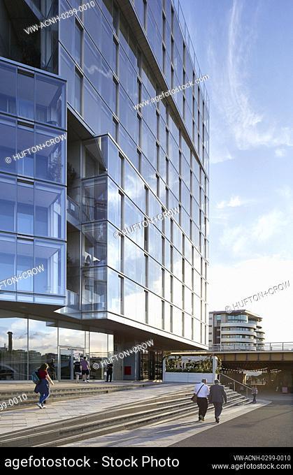 Exterior view. Circus West Village - Battersea Power Station, London, United Kingdom. Architect: simpsonhaugh, 2018