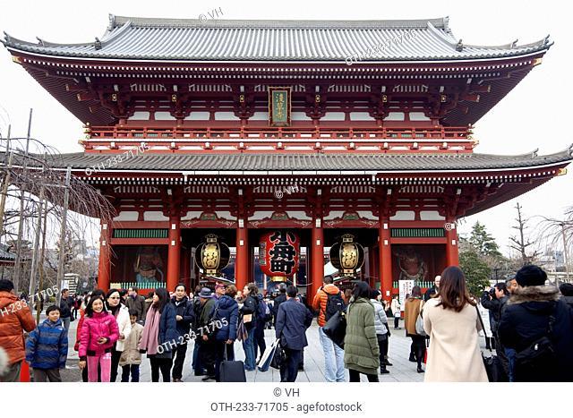 Senso-ji, Asakusa district, Tokyo, Japan