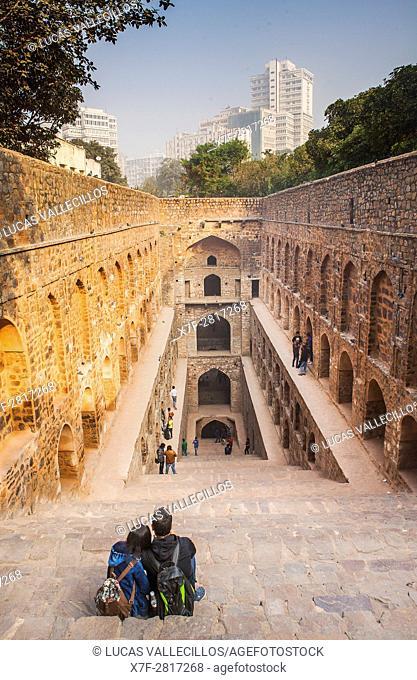Agrasen ki Baoli, Delhi, India