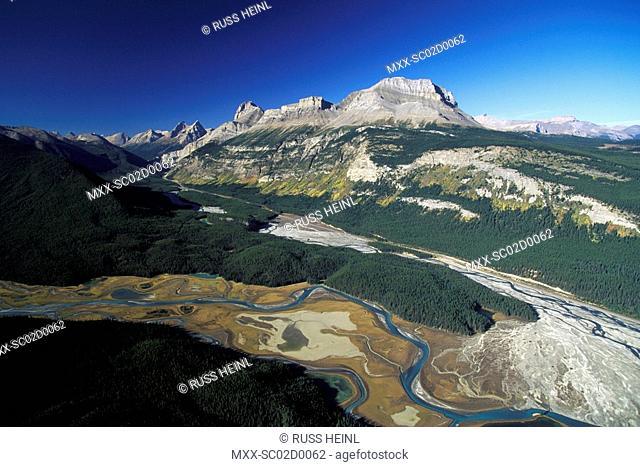 North end of Saskatchewan River, Alberta