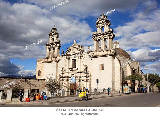 Iglesia de la Recoleta- Recoleta Church, a temple of baroque style constructed between 1668 and 1678, Cajamarca, Northern Highlands, Peru, South America