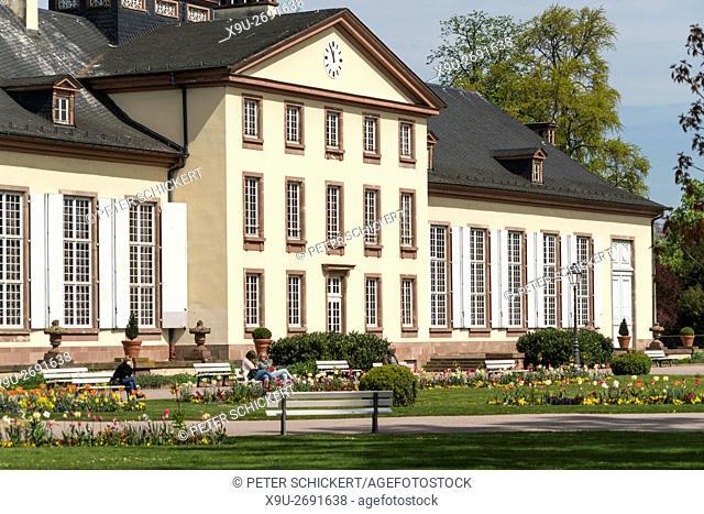 Pavillon Josephine at the Park Parc de l'Orangerie in Strasbourg, Alsace, France