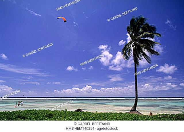 France, Guadeloupe (French West Indies), Anse-Michel beach