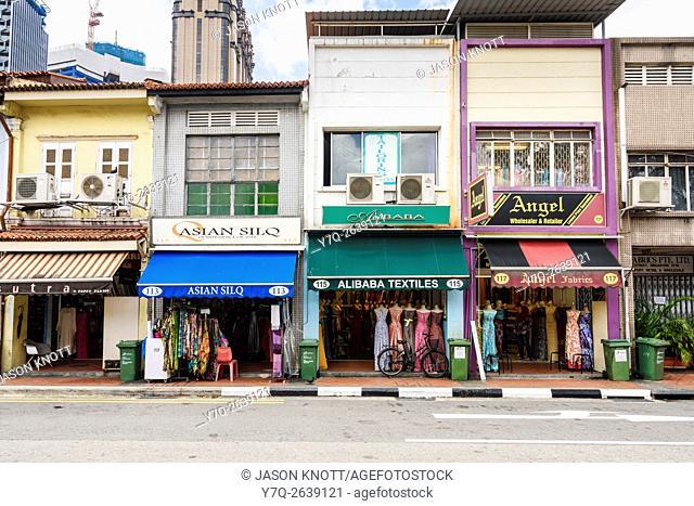 Shophouses along Arab St, Kampong Glam, Singapore