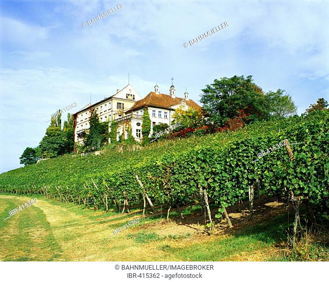 Kirchberg castle upon the Lake Constance Baden-Wuerttemberg Germany