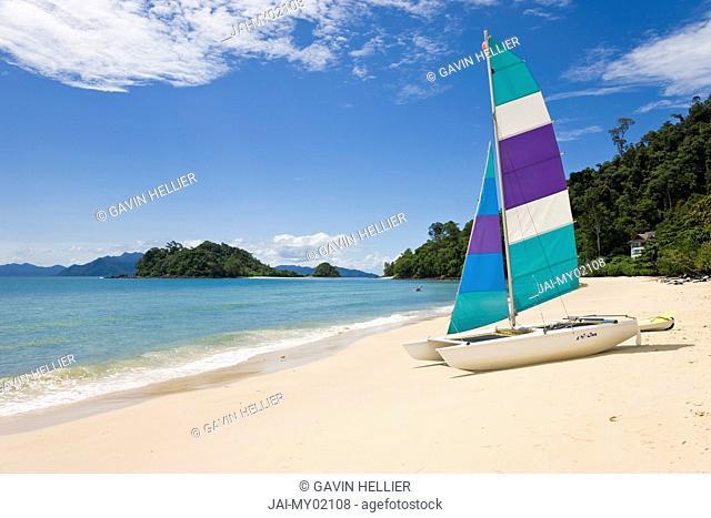 Malaysia, Langkawi Island, Pulau Langkawi, Pulau Datai, beach
