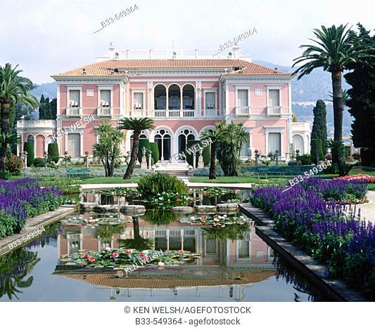 Villa Ephrussi de Rothschild. Saint Jean de Cap Ferrat. France