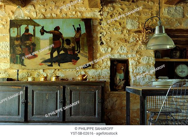 Dinner Room, Provence, France