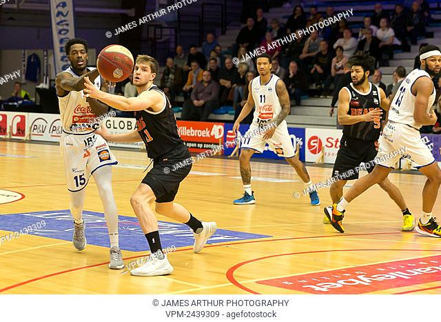 Illustration picture shows the basketball match between Kangoeroes Mechelen vs Leuven Bears, Friday 06 December 2019 in Mechelen